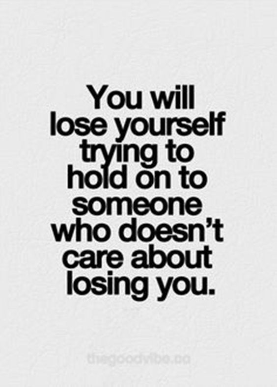 Learn your self-worth and respect yourself. Move on and forget they even existed. Lose them, not yourself.