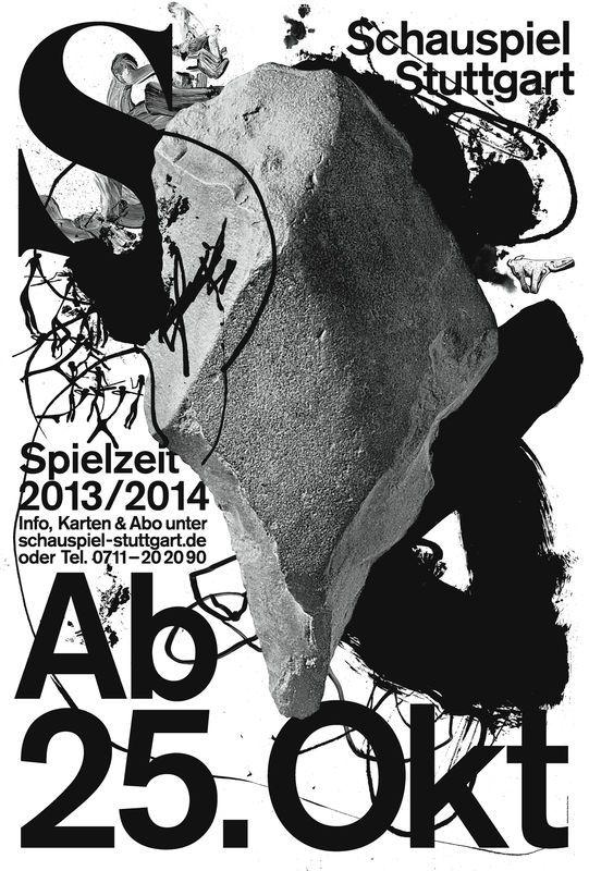 Galerie / Les 100 meilleures affiches germanophones de 2013 / étapes: design & culture visuelle