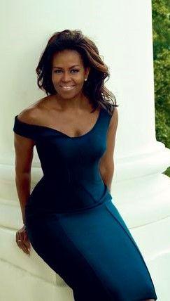 Michelle Obama. Abogada estadounidense.