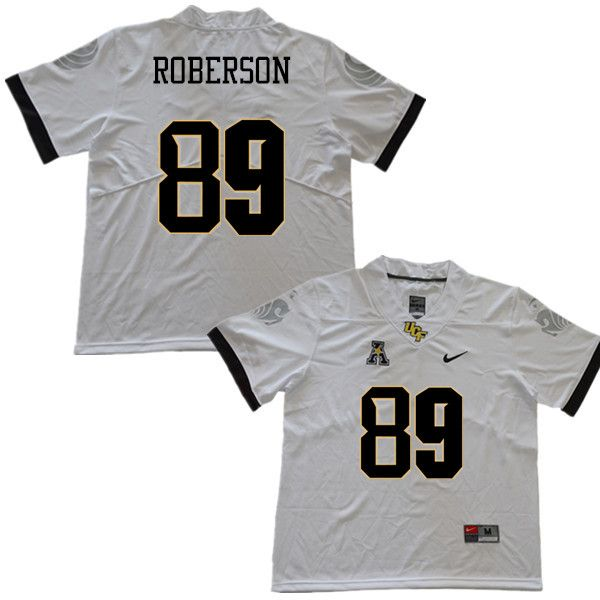 sports shoes c5783 7636a Men #89 Anthony Roberson UCF Knights College Football ...