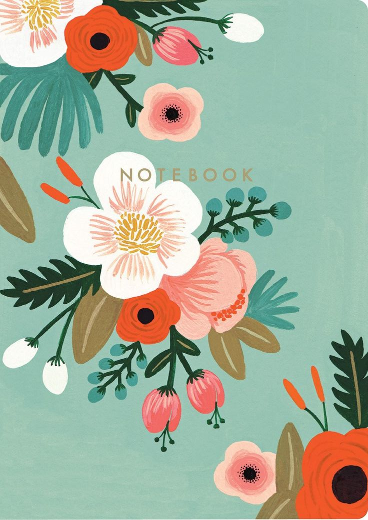 Botanicals Notebook Collection Rifle Paper Co 9781452101859 Amazon Books
