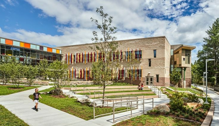 The New Sandy Hook Elementary School in Newtown, Connecticut. Architects: Svigals+Partners