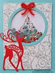 Enjoy this fun shaker card created using dies from Spellbinders.