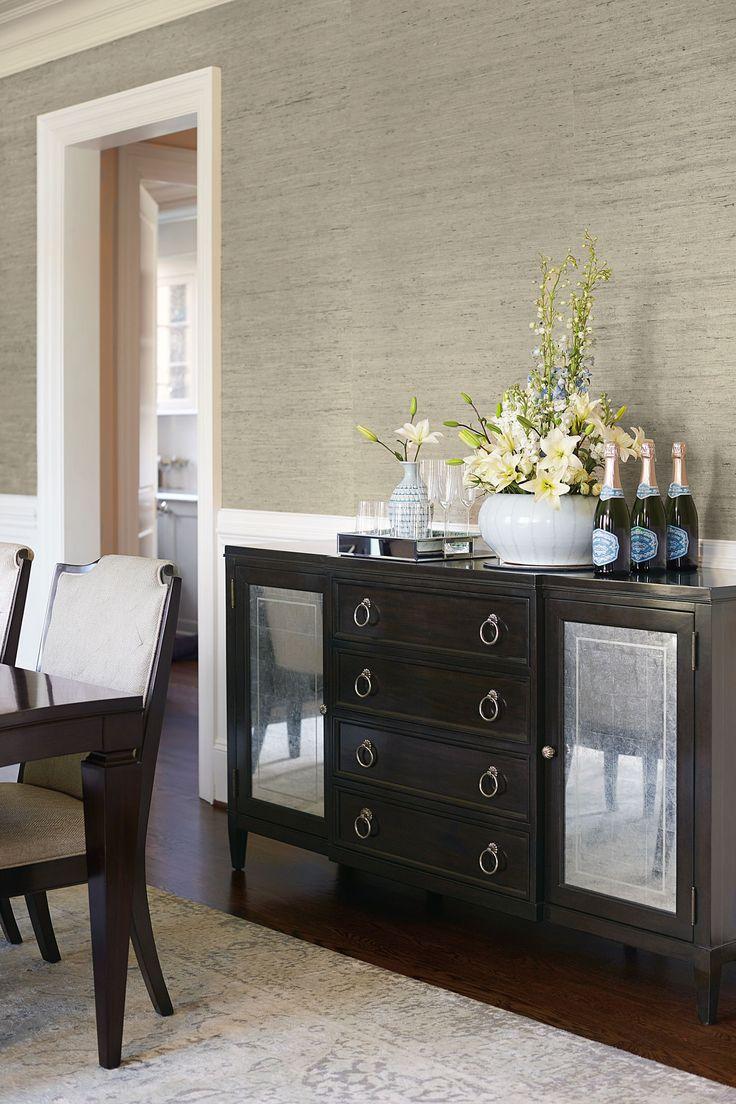 Lexington furniture chair fabric gold additionally ikea swivel chairs - Sutton House Sideboard Bernhardt