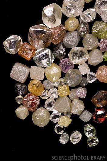 diamantes en bruto: