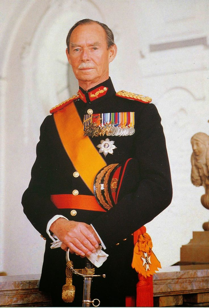H r h grand duke jean of luxembourg 1964 2000