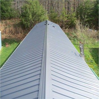 Pictures Of Metal Roofs Over Mobile Homes House Roof In