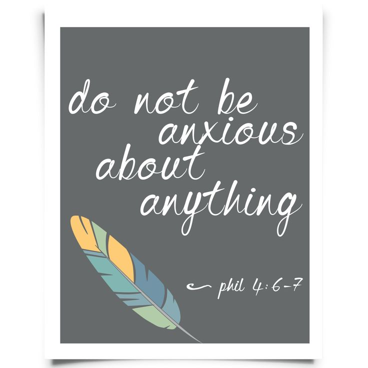 Phil 4:6-8 FREE printable wall art