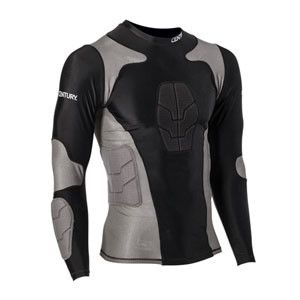 Long Sleeve Padded Compression Shirts Youth c14245