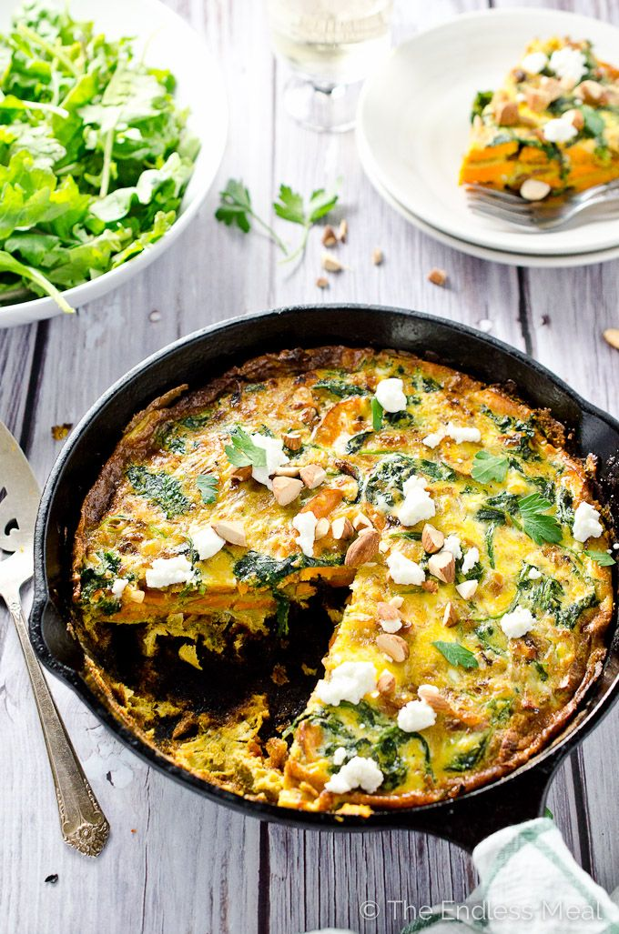 Curried Sweet Potato Frittata