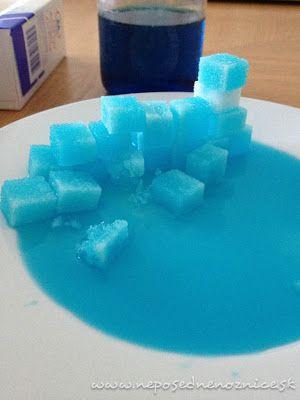 Zábava s kockovým cukrom | Neposedné nožnice