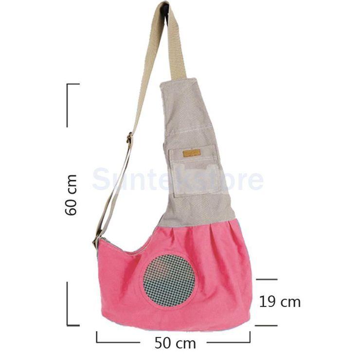 Canvas Pet Dog Cat Carrier Bag Single Shoulder Bag Sling Tote Outdoor Backpack | eBay
