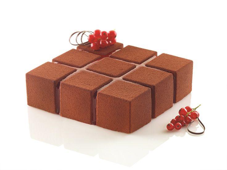 Cubik Silikomart Silicone Mould - Professional Line - Moulds - Accessories, Tools & Moulds