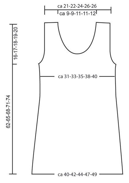 "DROPS crochet dress in ""Ice"" or in ""Paris"". ~ DROPS Design"