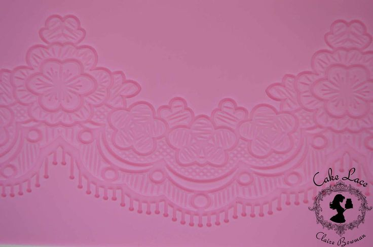 Cake lace Claire Bowman mat - Tiffany