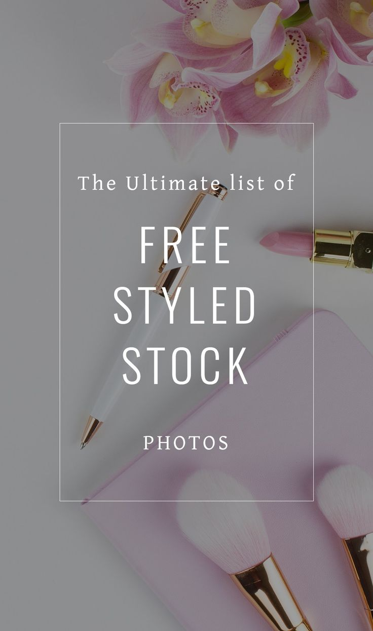 The Ultimate list of free styled stock photos