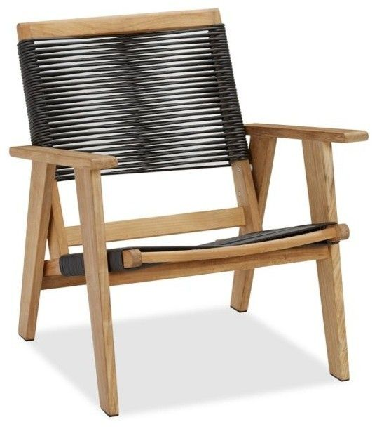 Pottery Barn Modern Outdoor Rope Chair