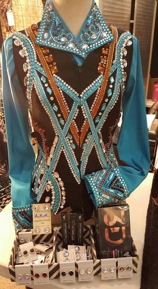 Western pleasure show shirt                                                                                                                                                                                 More