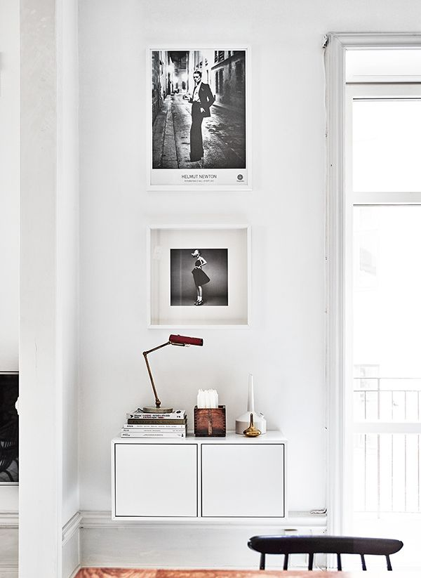 Helmut Newton print- vintage treasure - beautiful home in Stockholm