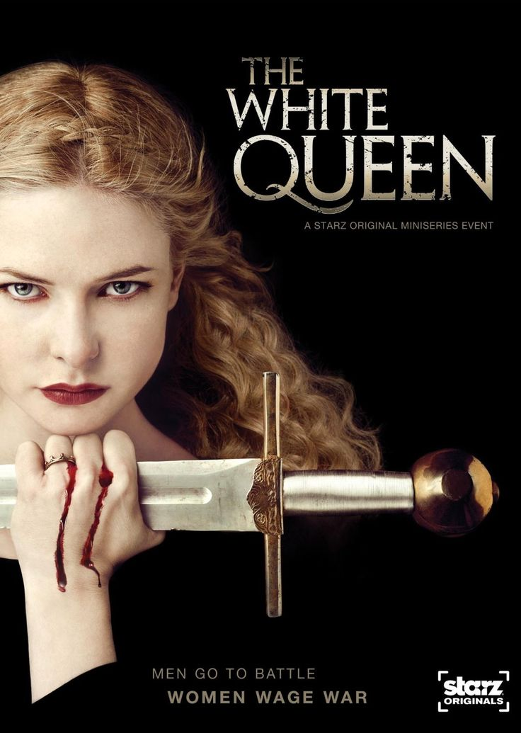 The White Queen is a riveting portrayal of one of the most dramatic and turbulent times in English history. A story of love and lust, seduction and deception, betrayal and murder, it is uniquely told through the perspective of three different, yet equally relentless women - Elizabeth Woodville, Margaret Beaufort and Anne Neville. In their quest for power, they will scheme, manipulate and seduce their way onto the English throne.