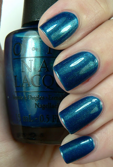 """OPI - Yodel Me On My Cell - What I call one of my """"mermaid colors"""""""