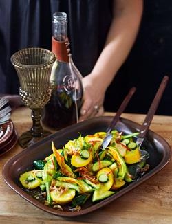 Matt Moran's Zucchini with garlic, chilli & lemon | Madison