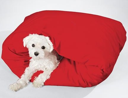 "Zoomed-in Version of this image for ""Burrow"" Dog Bed F7411"