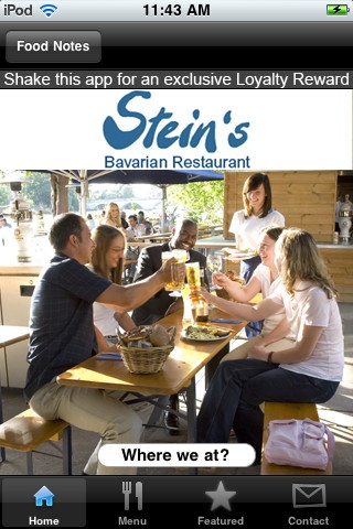"Stein's Bavarian Restaurant, www.stein-s.com    ""Here at Stein's, we invite you to sit down, relax and enjoy authentic Munich beer, wine and great German food. ""    55 Richmond Towpath, TW10 6UX map"
