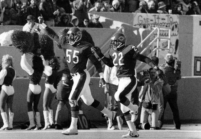 Otis Wilson and Dave Duerson