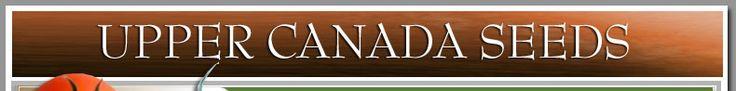 Heritage and Heirloom Seed Catalog, Organic Garden, Ontario, Canada