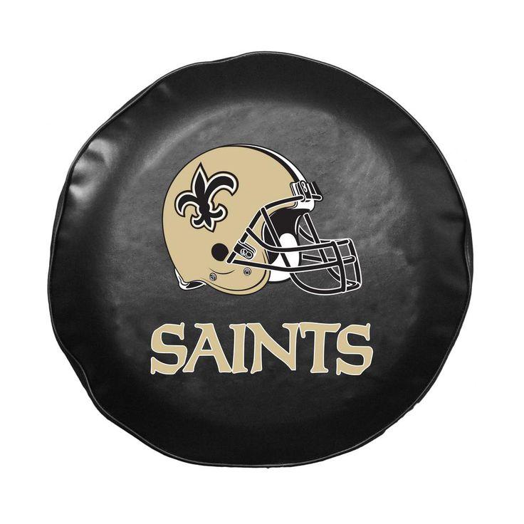 Fremont Die NFL New Orleans Saints Large Tire Cover