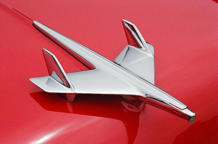 I love taking photos of vintage car hood ornaments.
