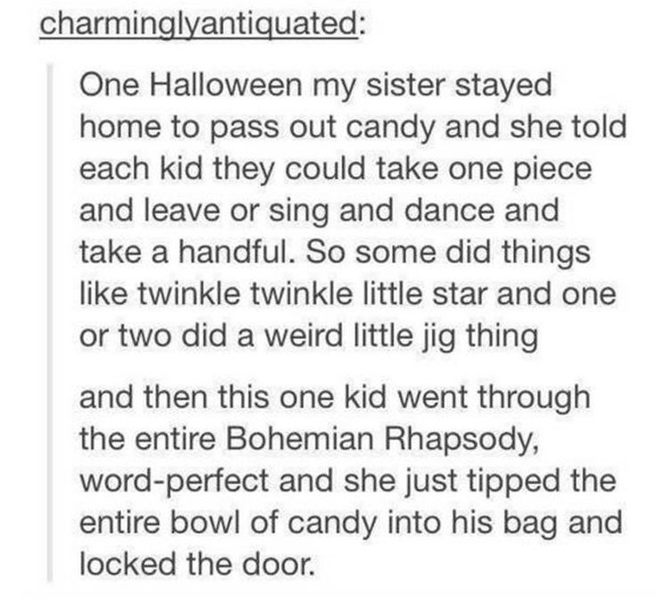 Need to do this! Also my dad opened the door once and knocked out a kid with the door.