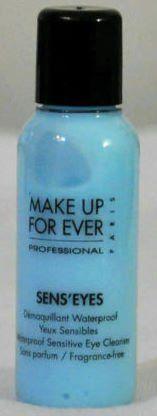 MAKE UP FOR EVER SENS`EYES Waterproof Sensitive Eye Cleanser - TRAVEL SIZE (bestseller)