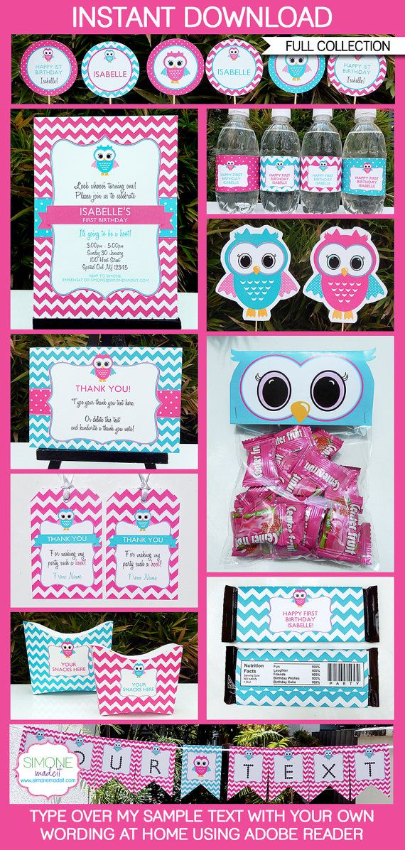 Hey, I found this really awesome Etsy listing at https://www.etsy.com/listing/185147481/owl-birthday-party-invitations