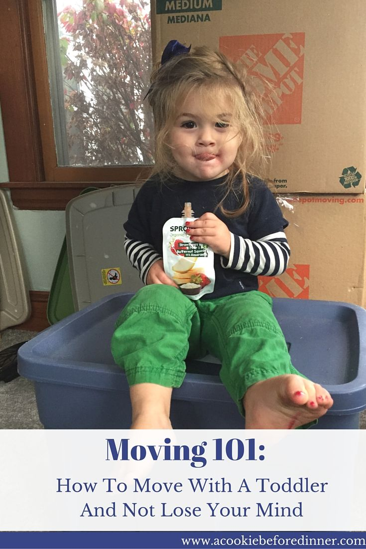 Stress free moving tips: How To Move With A Toddler And Not Lose Your Mind. ad