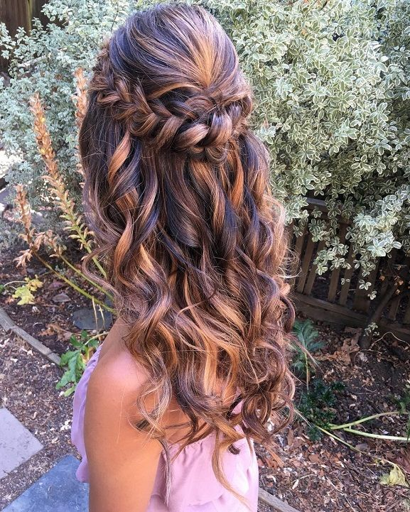 Braids Half Up Half Down Hairstyle Fishtail Braid Fishtail Braid Hairstyles Side Fishtail Braid Fishtail B Hair Styles Side Down Hairstyles Down Hairstyles