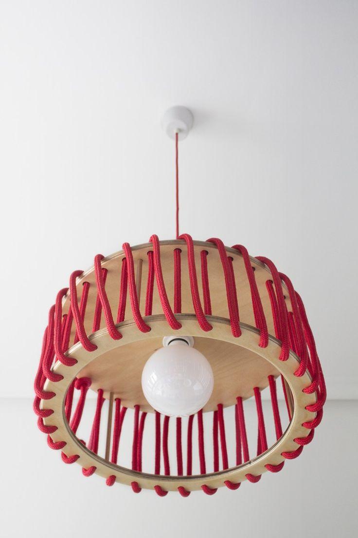 Rope pendant lamp MACARON by EMKO UAB