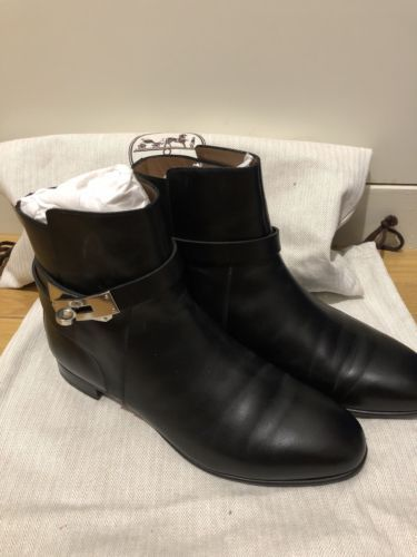 sports shoes b36d5 93f57 Hermes neo Boots 37.5 Nero Black | Women's Shoes | Boots ...