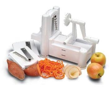 Spiral Vegetable Slicer -  make zucchini noodles & more