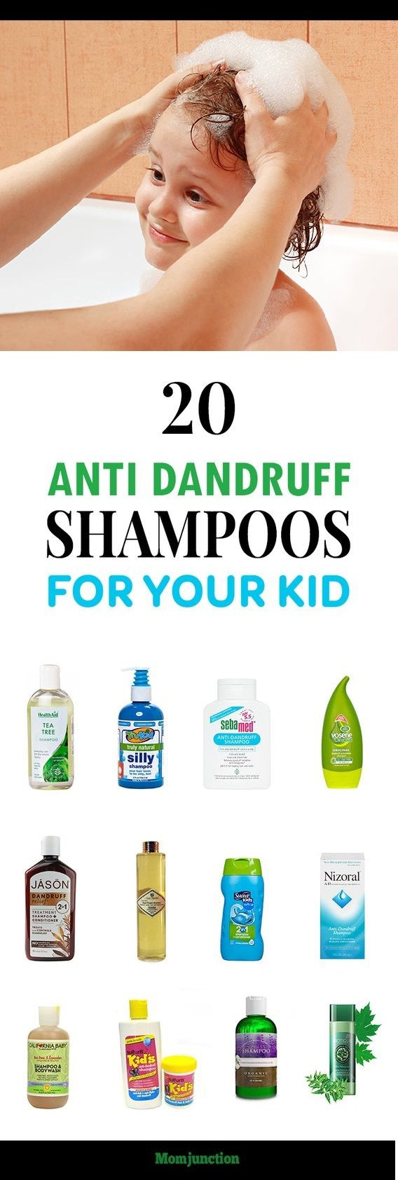 #Home #remedies are the best solution for getting rid of dandruff, but they can take some time to show results. If you want a quick fix, anti dandruff shampoo is the way to go.And, we know how irritating is to look for the best anti dandruff shampoo. So, MomJunction has put together a list of the top and best anti #dandruff #shampoo for #kids. Check them out below.