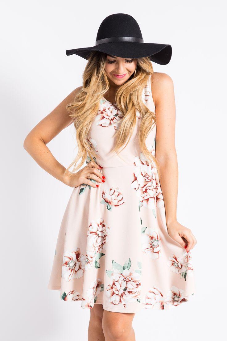 Fisher Dress Spring Dream Blush My Agnes Amp Dora