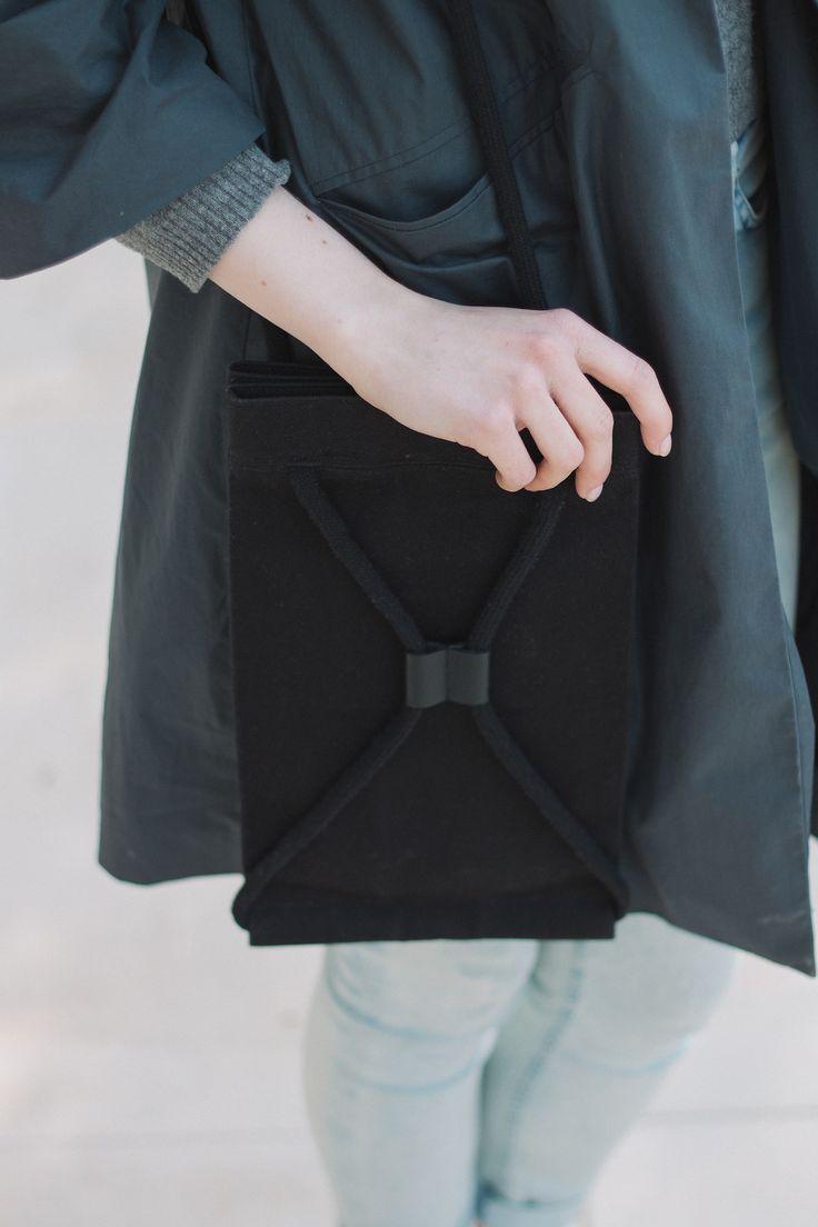 Pocket Bag Medium Black