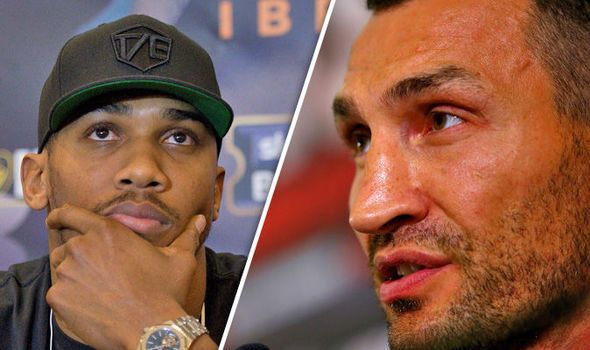 Anthony Joshua could fight Wladimir Klitschko at Wembley: Boxer says it 'will happen'