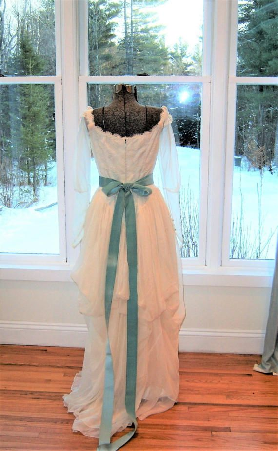 Vintage Victorian Style Wedding Gown 1990s / by ladylovesgreen