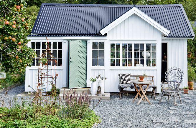 Mały dom w ogrodzie