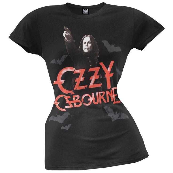 Ozzy Osbourne - Scream Bats Ladies T-Shirt