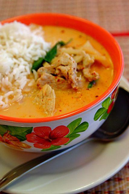 Thai Red Curry Chicken | Recipies | Pinterest