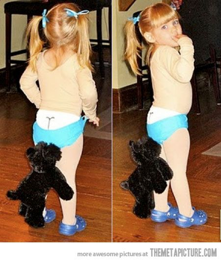 Probably the cutest Halloween costume ever…  Minus the crocs. No one at any age should be subjected to the humiliation of wearing crocs.