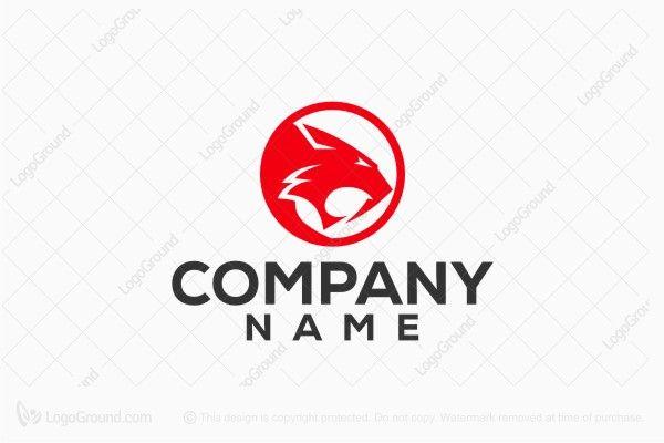 Red Tiger Head Logo